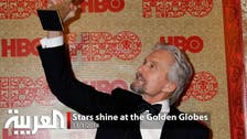 Stars shine at the Golden Globes