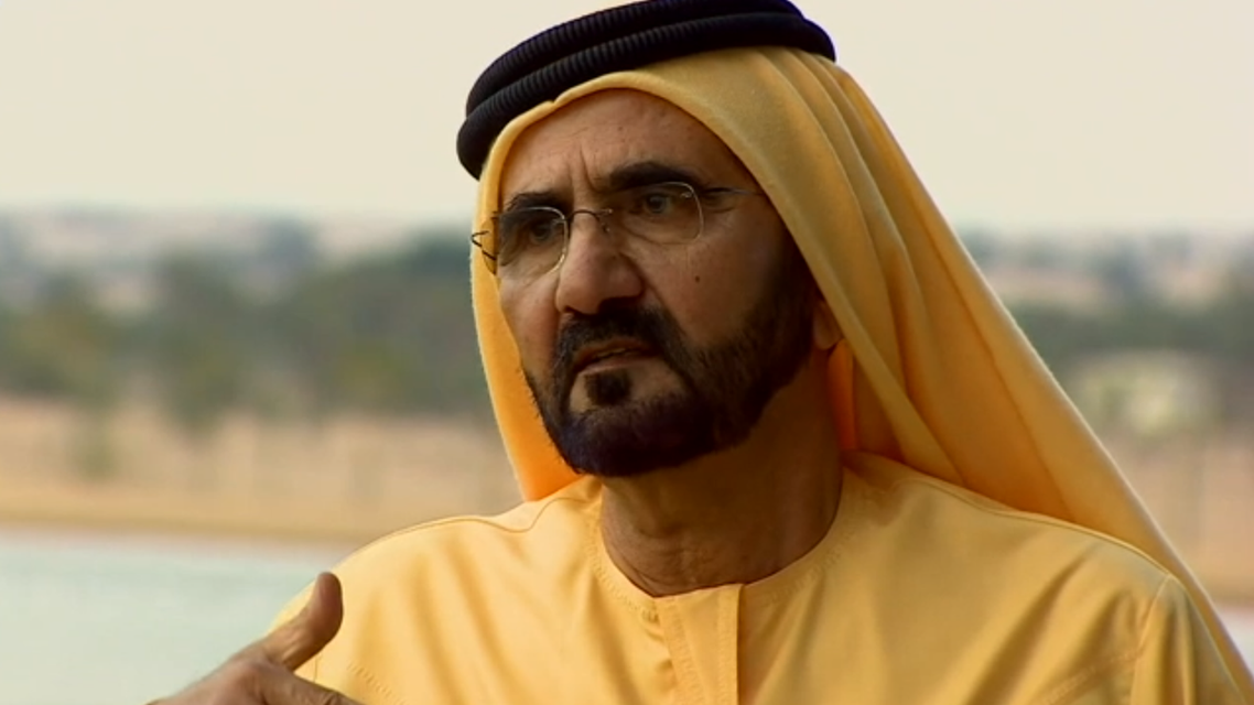 'Iran is our neighbor and we don't want any problem' Sheikh Mohammed said. (Image courtesy: BBC)