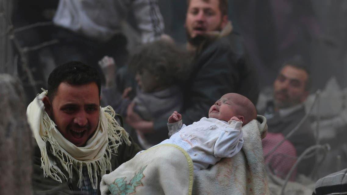 Syrian child (Reuters)