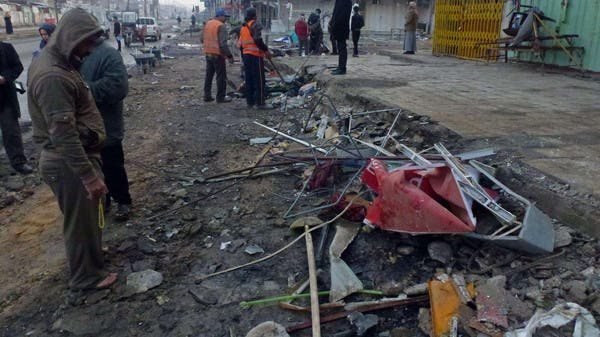 27e52d038 3 انفجارات تهز المنطقة الخضراء في بغداد 3 انفجارات تهز المنطقة الخضراء في  بغداد