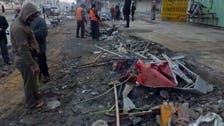 3 انفجارات تهز المنطقة الخضراء في بغداد