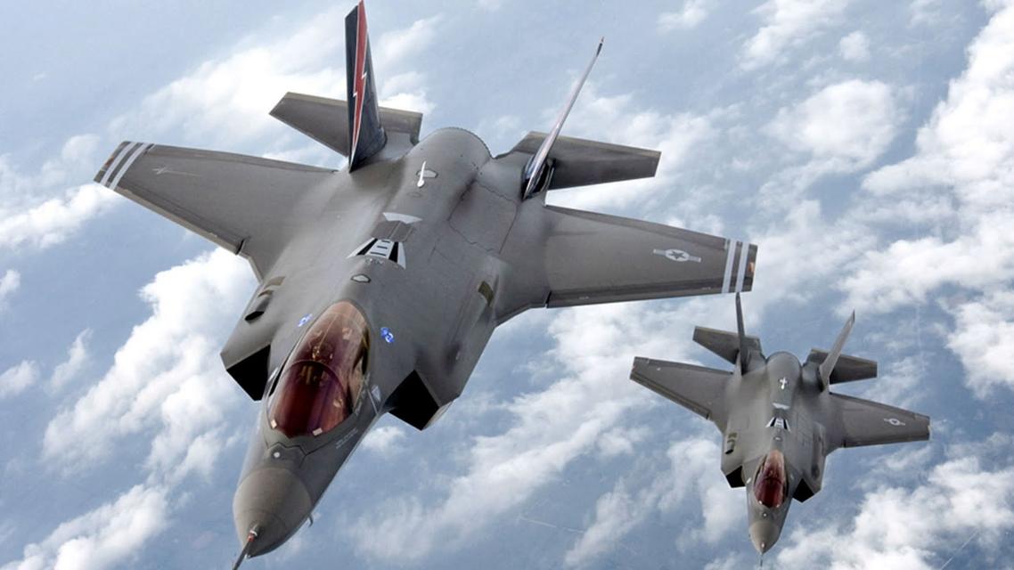 طائرة F35 الامريكية المقاتلة