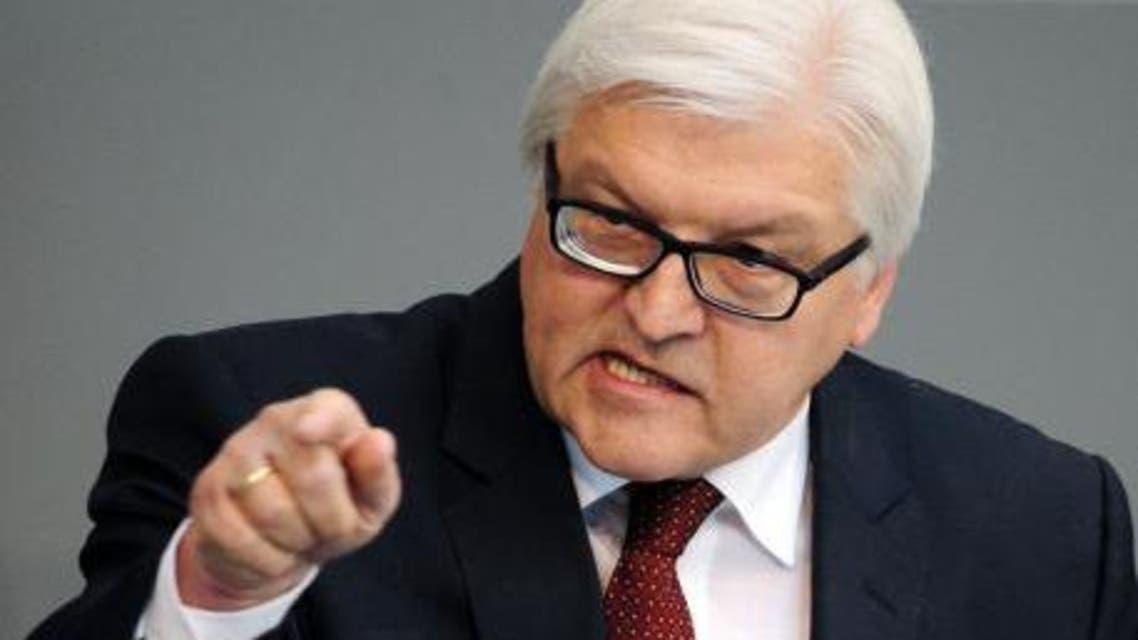 وزير الخارجية الألماني فرانك-فالتر شتاينماير