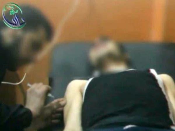 قوات الأسد تستخدم قنابل غازات سامة في داريا قرب دمشق