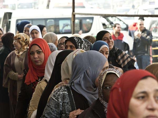 مصر.. بدء الاستفتاء على الدستور وسط إقبال شعبي كثيف