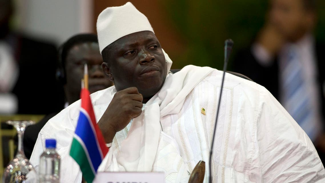 gambia president reuters