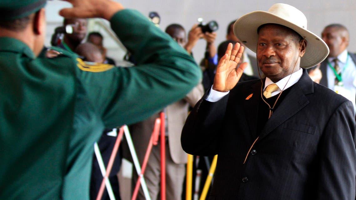 uganda president reuters