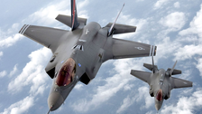 Pentagon grounds global fleet of F35s after crash