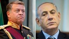 Israeli PM visits Jordanian king in Amman