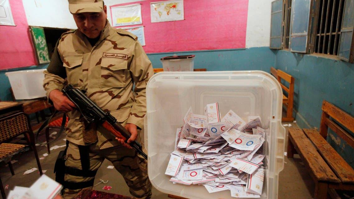 Egyptians count referendum votes