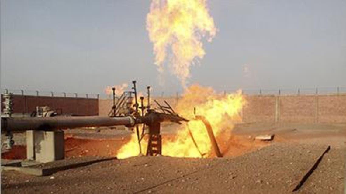 خط الغاز بسيناء