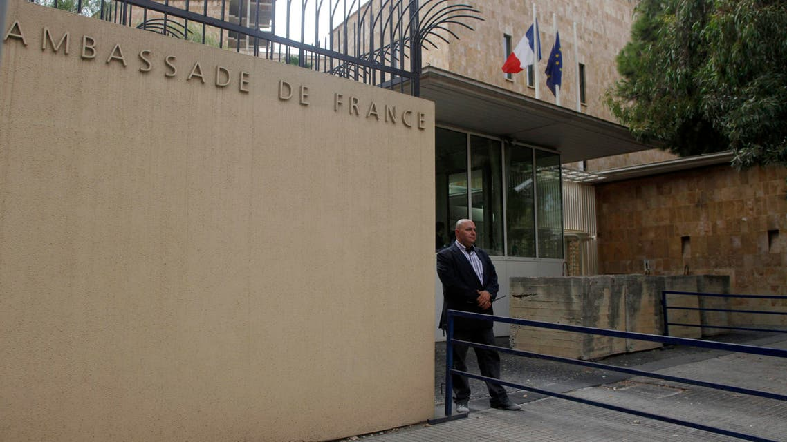french embassy beirut reuters