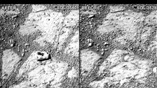 Scientists baffled by sudden 'mystery rock' on Mars
