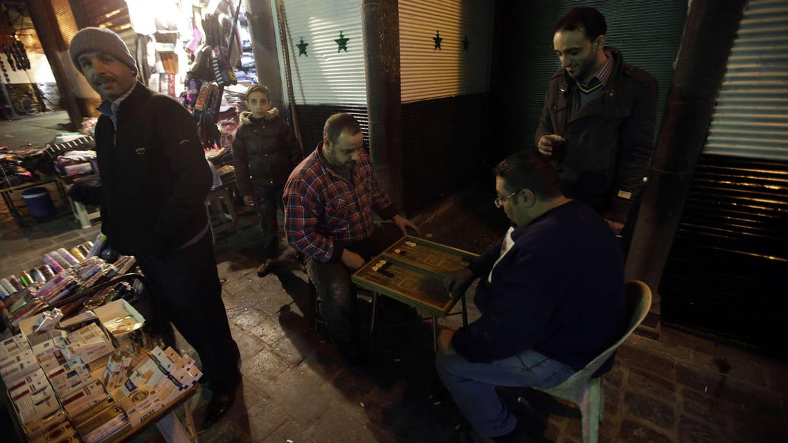 Carrying on with daily life in Syria