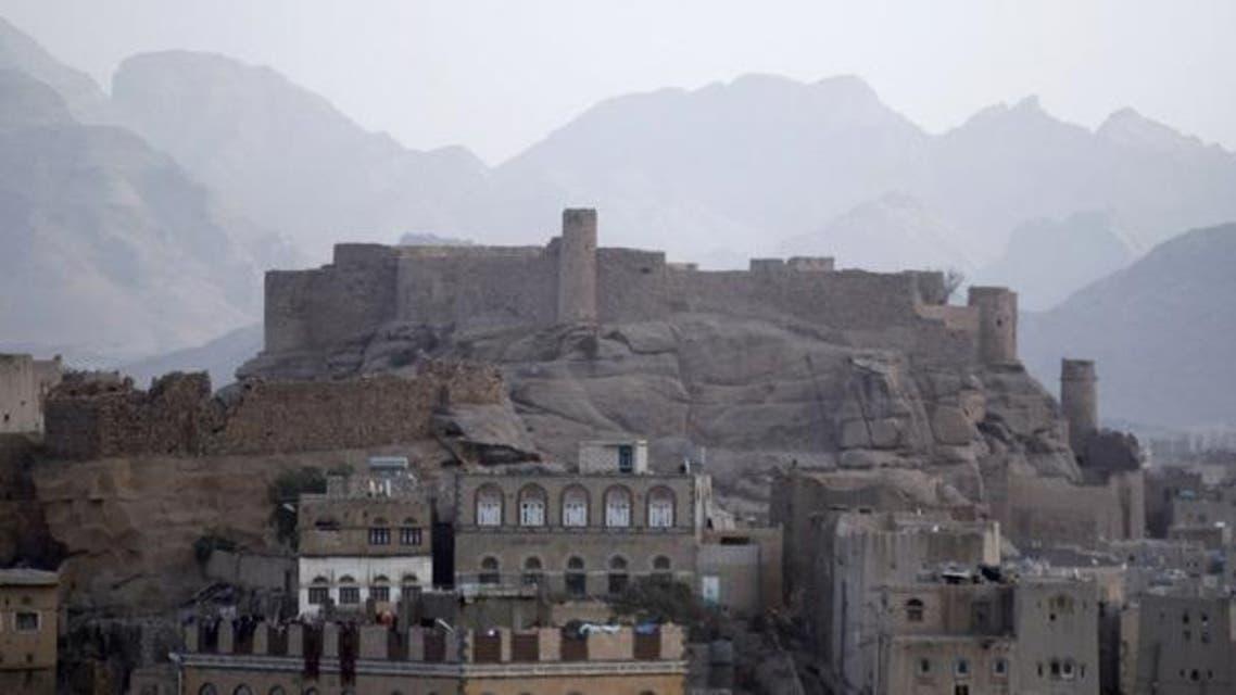 جانب من مدينة رداع بوسط اليمن