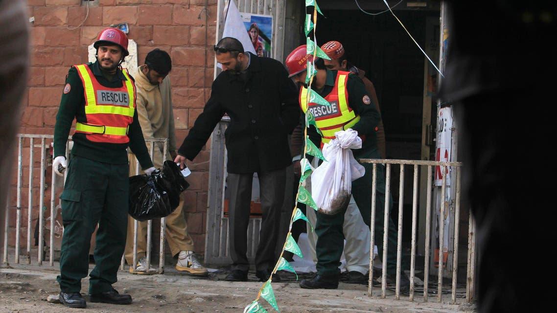 Aftermath of deadly blast in Pakistan