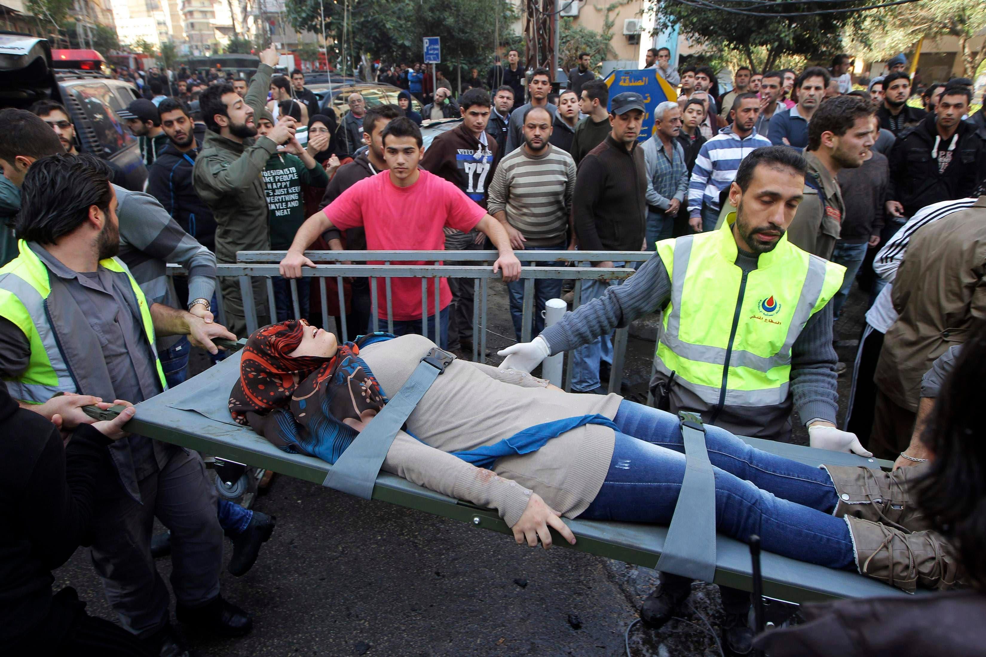 Explosion rocks Hezbollah's Beirut stronghold