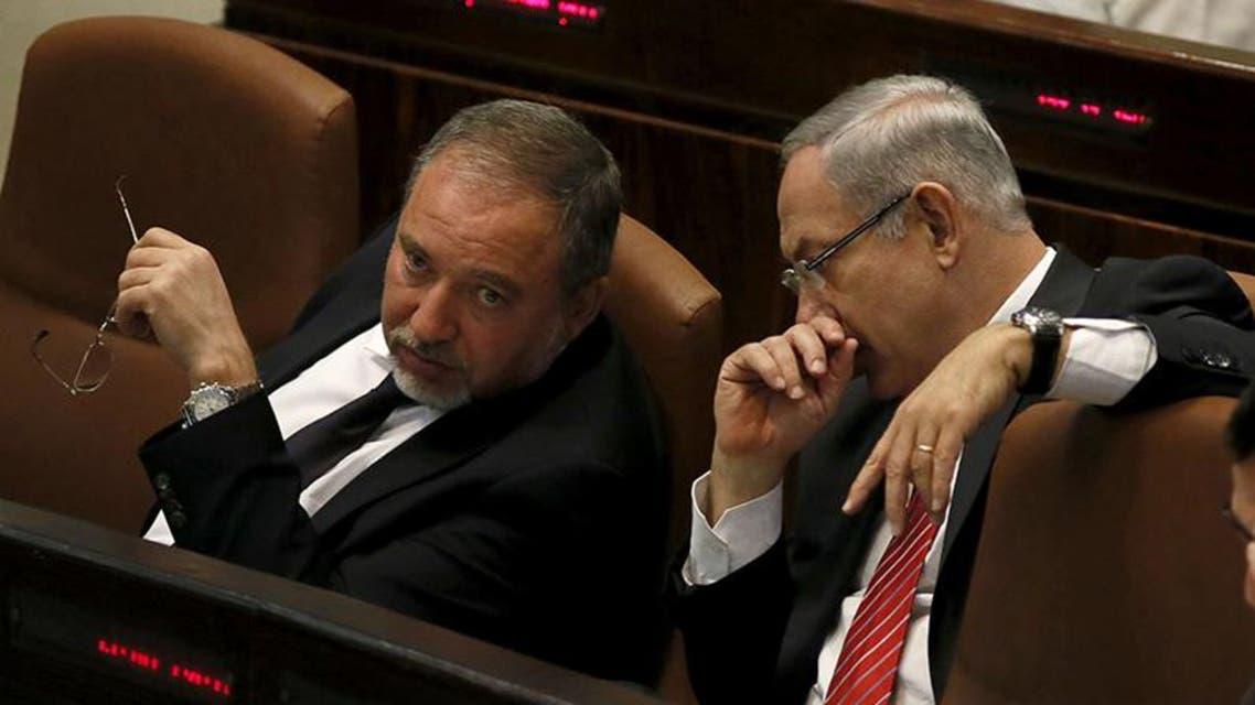 نتانياهو و ليبرمان