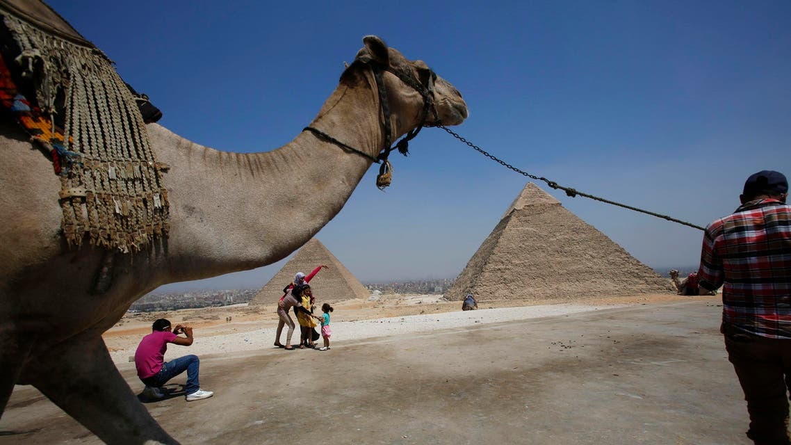 Egypt has popular tourism spots like the Giza Pyramids, but the sector has been hit by the unrest in the country. (File photo: Reuters)