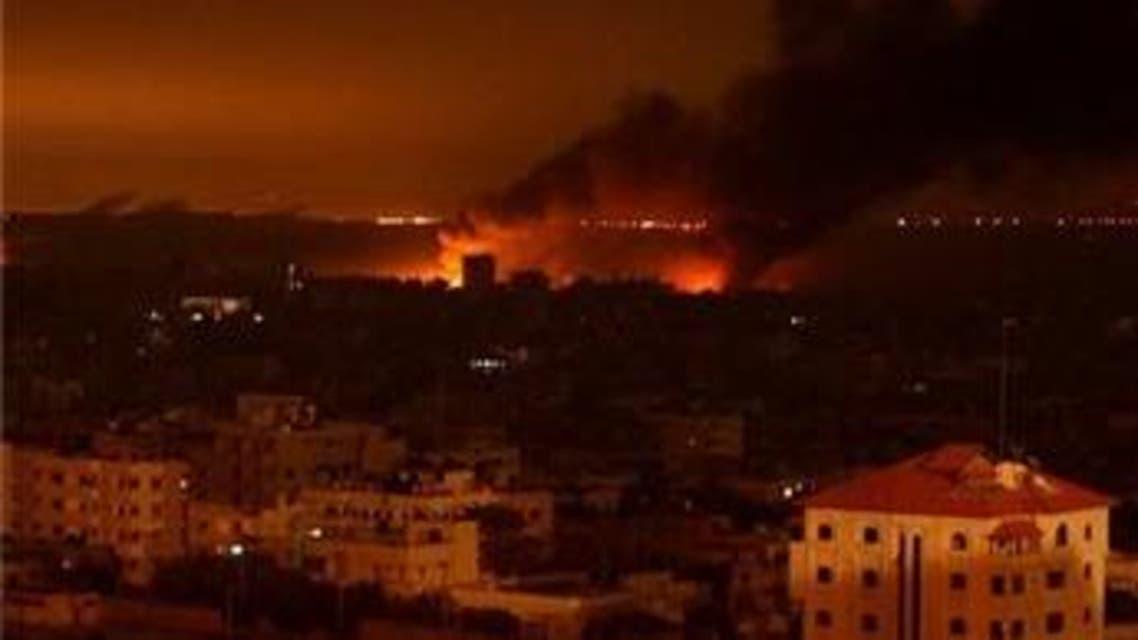 غارة إسرائيلية على غزة