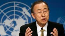 بان كي مون للسوريين: طفح الكيل وقد حان الوقت للتفاوض