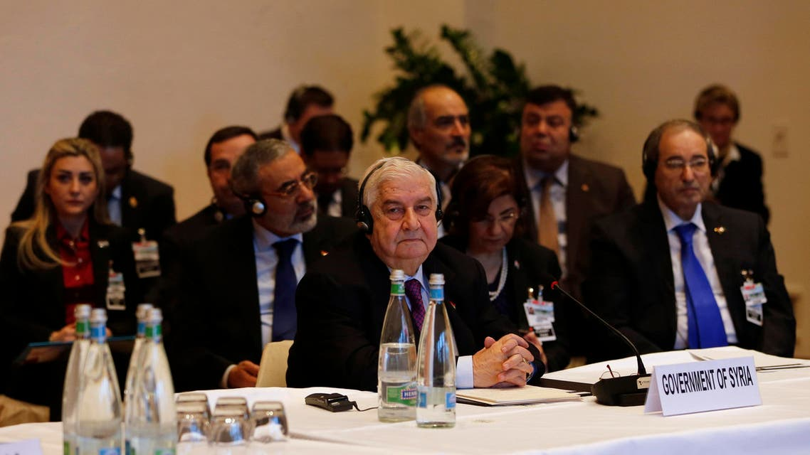 Syria's government and its enemies came face to face for the first time on Wednesday at the one-day peace conference in Switzerland which world powers hope can at least start a process to end three years of civil war. (Reuters)