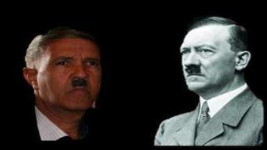 شبيه هتلر بالجزائر يصنع الحدث بالشارع وملاعب الكرة