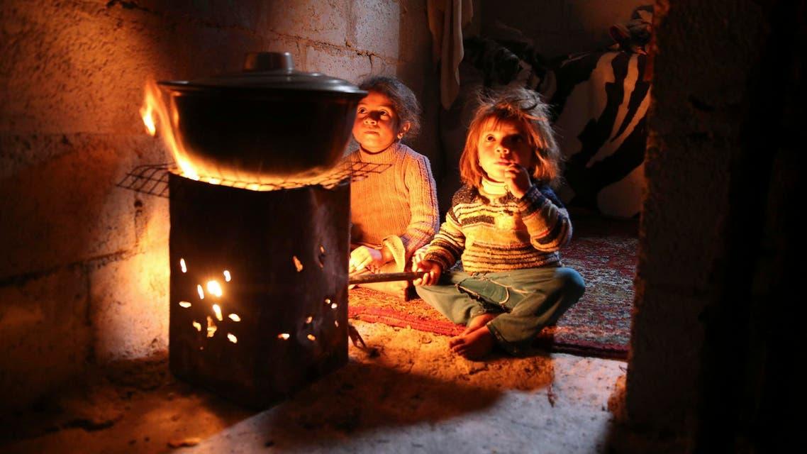 Syrian children. (Reuters)