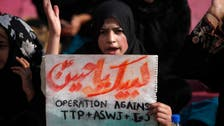 Pakistan Shiites protest over bus bombing