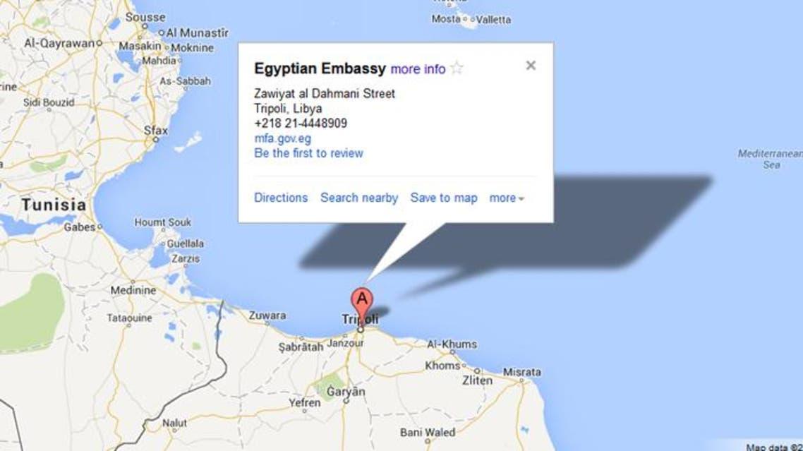 egypt embassy libya
