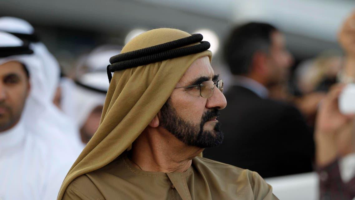 United Arab Emirates' Prime Minister and Ruler of Dubai Sheikh Mohammed bin Rashid al-Maktoum attends the Dubai World Cup at the Meydan Racecourse in Dubai, March 30, 2013. (File photo: Reuters)