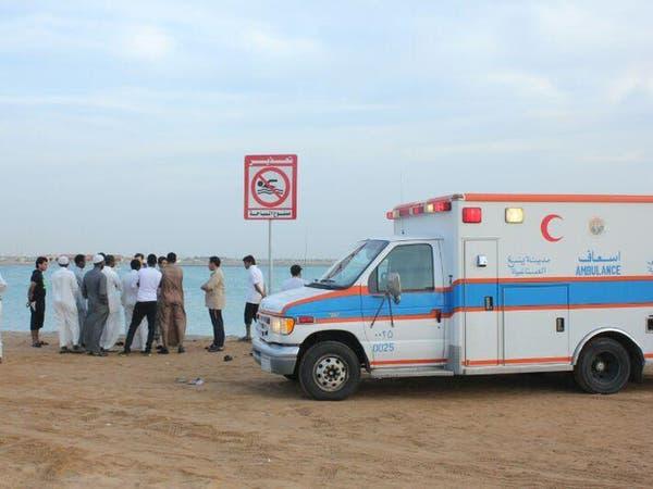 غرق 8 نساء في ينبع على ساحل البحر الأحمر بالسعودية