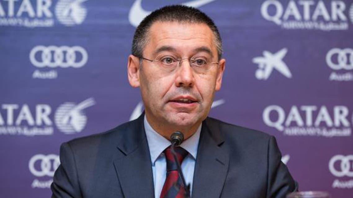 رئيس برشلونة الإسباني الجديد، جوسيب ماريا بارتوميو