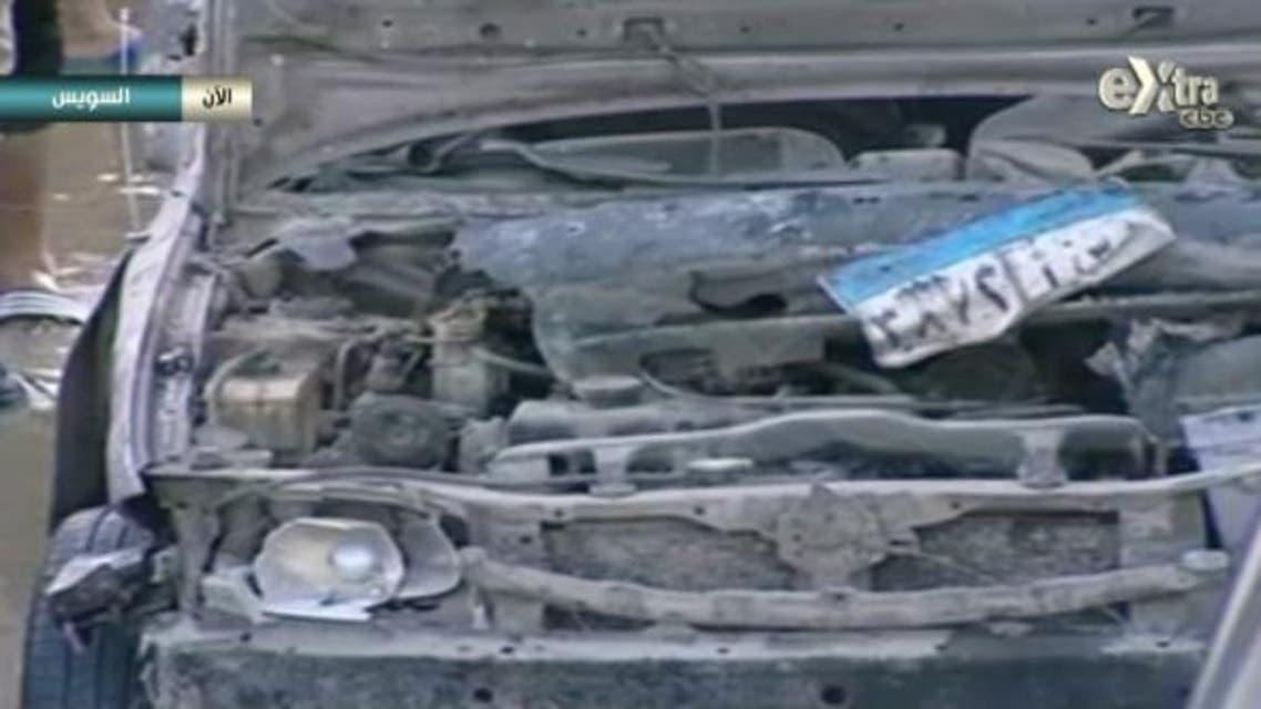 السيارة المفخخة في السويس