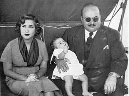 The overthrow of Egypt's King Farouk: a dramatic departure