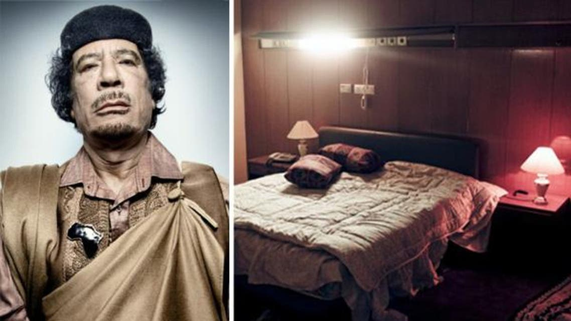 Colonel Qaddafi reportedly kept hundreds of girls as sex slaves during his years in power. (Photos courtesy: BBC/ New York Times/ Redux/ eyevine)