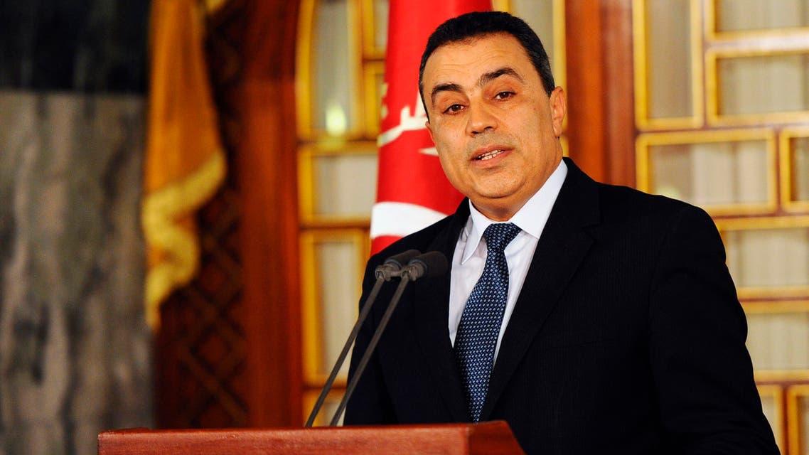 Tunisia's premier-designate Mehdi Jomaa addresses the media during a news conference reu