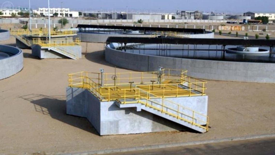 محطة مياه في السعودية
