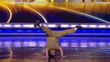 فيديو لطفل يثير الإعجاب برقصه في  India's Got Talent