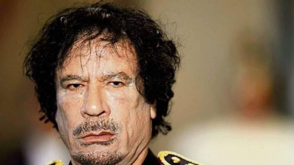 الزعيم الليبي المخلوع، العقيد معمر القذافي