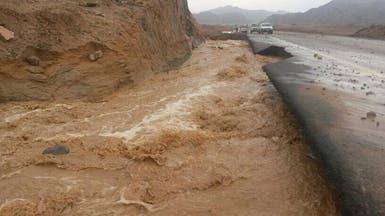 موجة جديدة من الأمطار في شمال السعودية وغربها