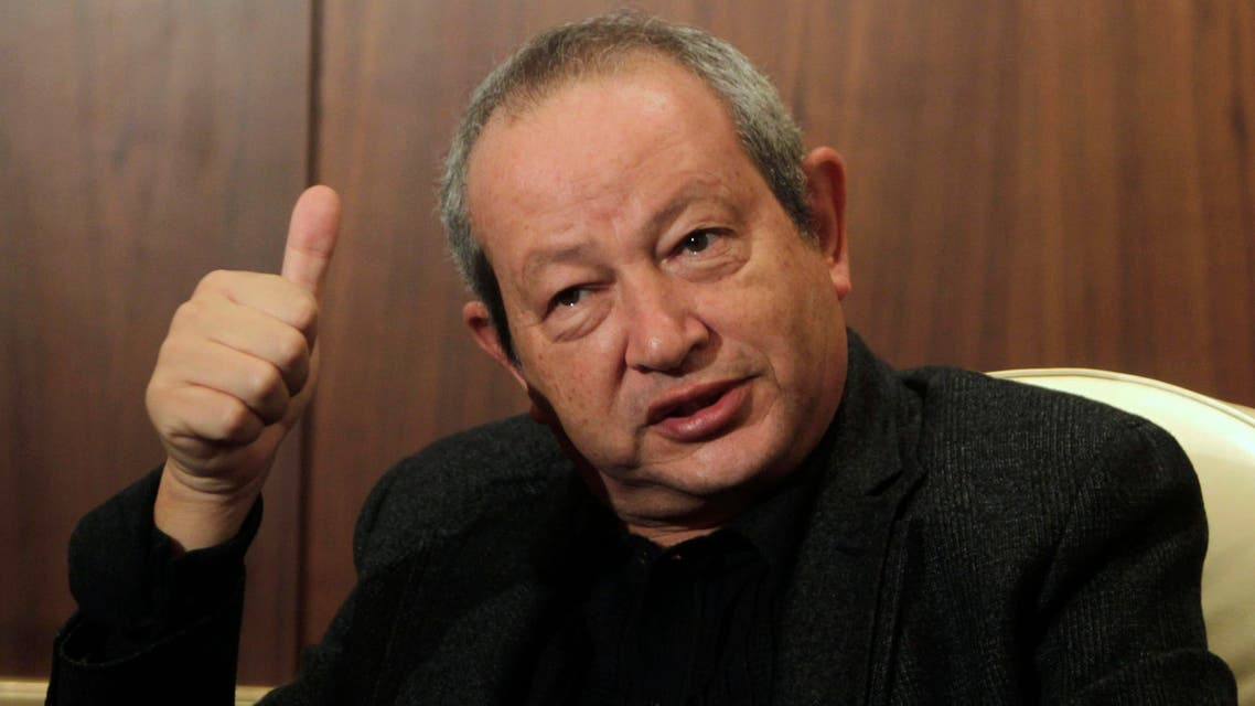 The Egyptian tycoon Naguib Sawiris says he will only invest in Telecom Italia if the Madrid-based Telefonica exits. (File photo: Reuters)