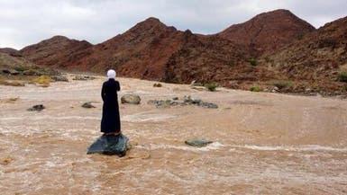 أمطار وعواصف رعدية على شمال السعودية