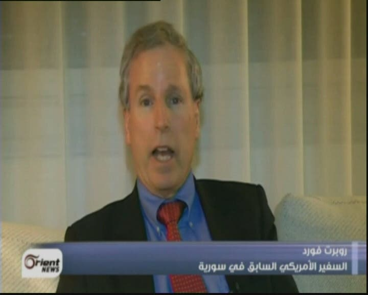 THUMBNAIL_ مقابلة مع السفير الاميركي السابق في سوريا روبرت فورد