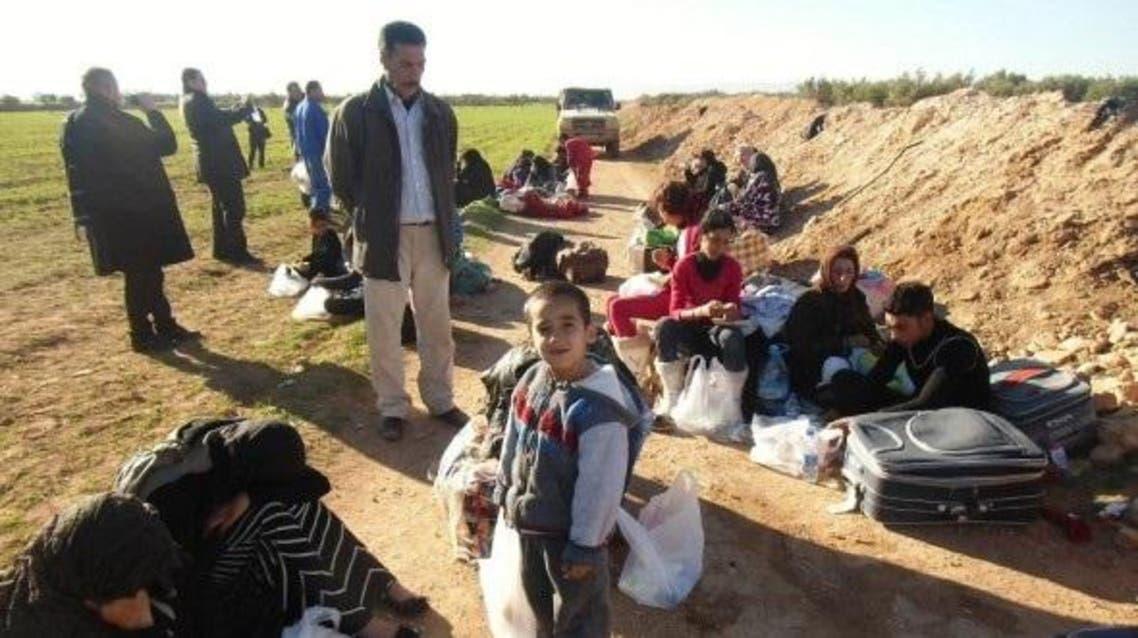 لاجئون سوريون على حدود المغرب والجزائر