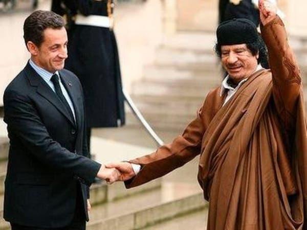 تسجيل للقذافي يؤكد تمويله حملة ساركوزي الانتخابية