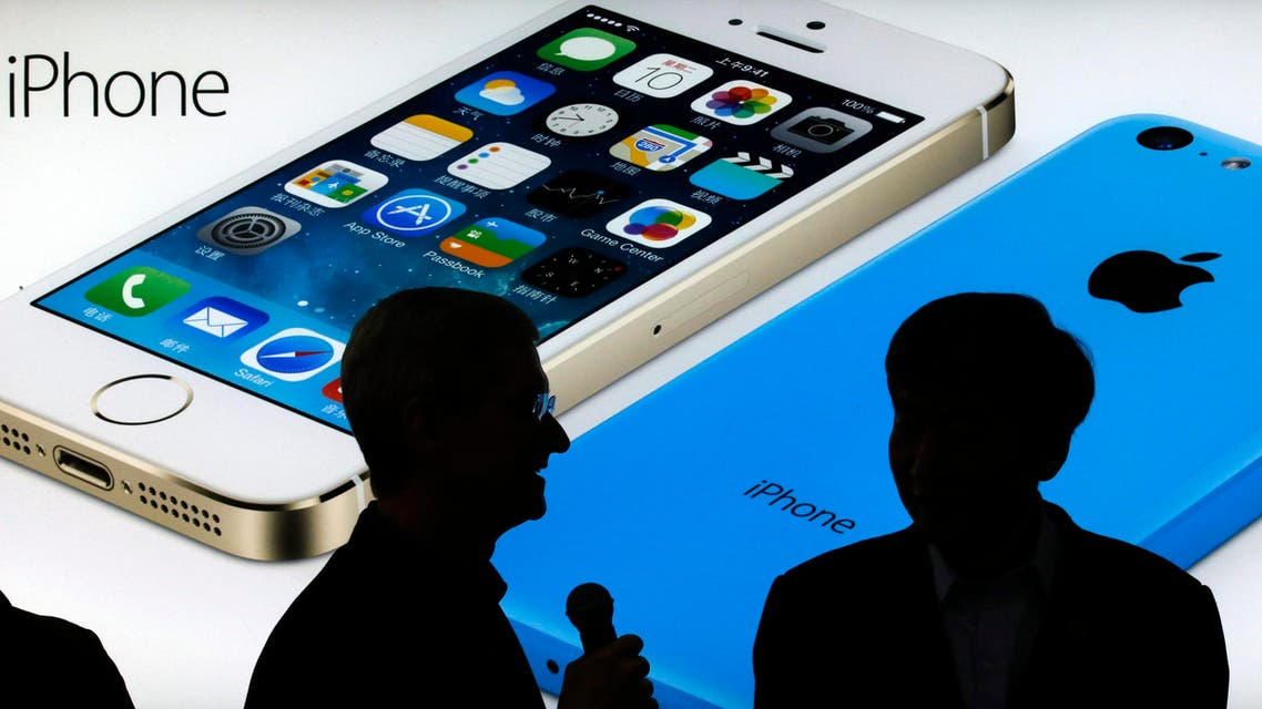 Shares in iPhone maker tumbled 8 percent following release of earnings report. (File photo: Reuters)