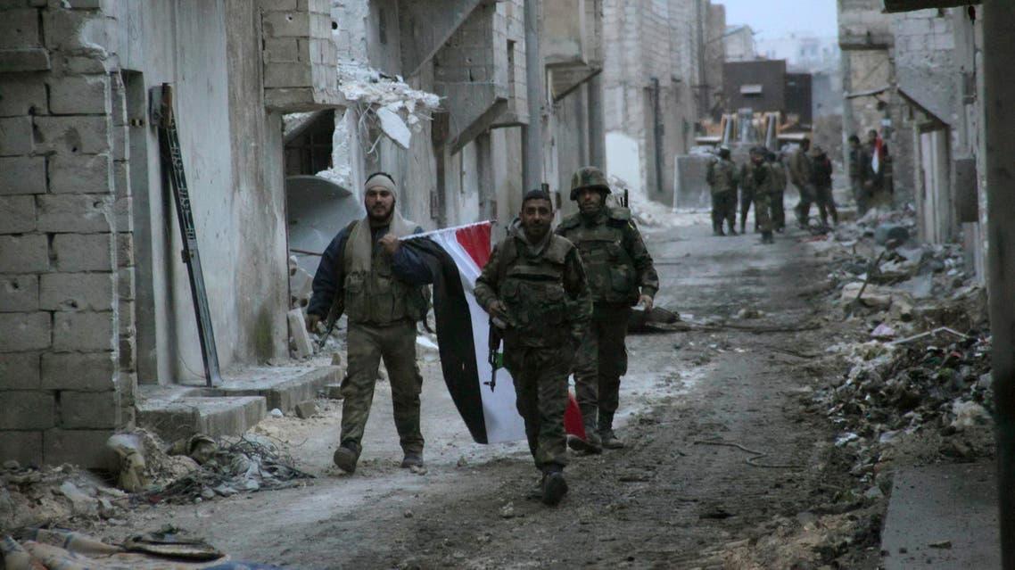syria army aleppo reuters