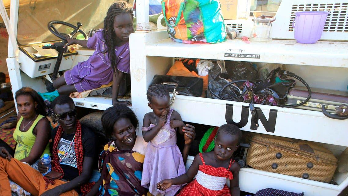 south sudan UN base reuters