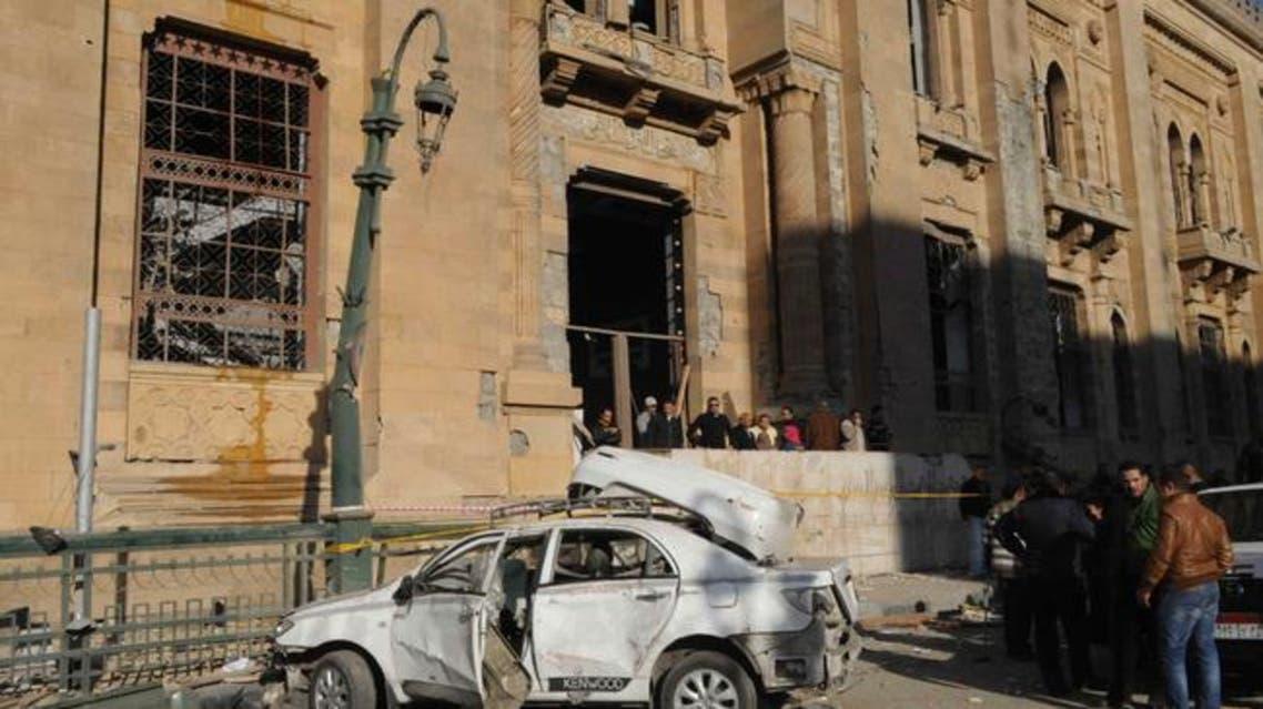 متحف الفن الإسلامي بالقاهرة متضررا بعد التفجير